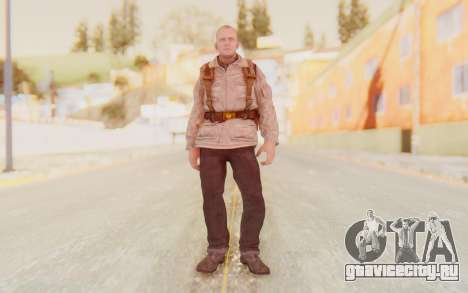 COD BO Russian Soldier v2 для GTA San Andreas второй скриншот