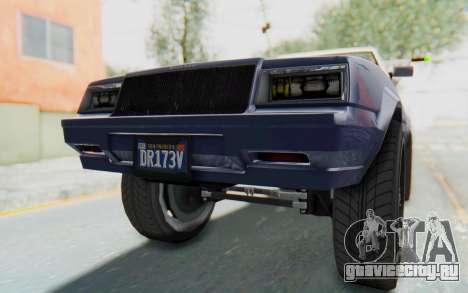GTA 5 Willard Faction Custom Donk v3 IVF для GTA San Andreas вид снизу