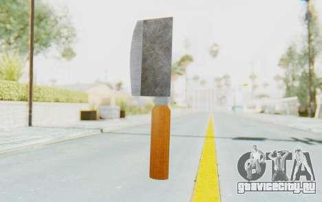 Butcher Knife для GTA San Andreas второй скриншот