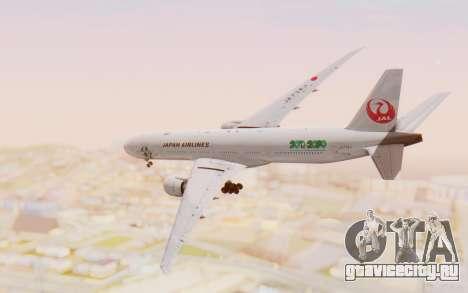 Boeing 777-300ER Japan Airlines v1 для GTA San Andreas вид справа