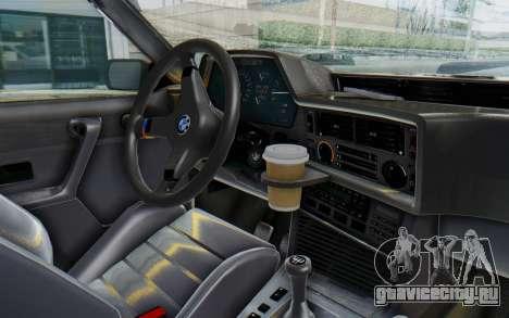 BMW M635 CSi (E24) 1984 IVF PJ2 для GTA San Andreas вид сзади