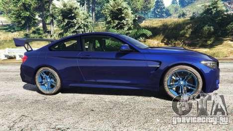 BMW M4 2015 v0.01 для GTA 5 вид слева