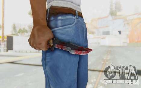 Huntsman Knife для GTA San Andreas третий скриншот