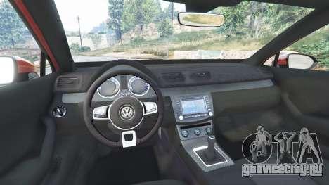 Volkswagen Passat Highline B8 2016 Stanced для GTA 5 вид спереди справа