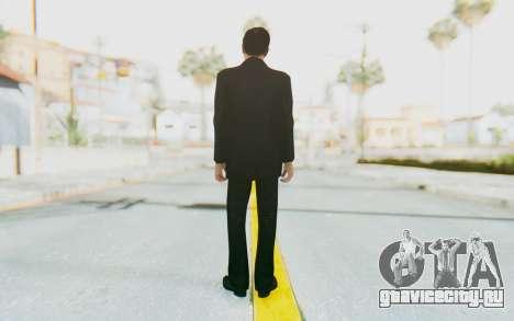 Mafia 2 - Vito Scaletta Madman Suit Black для GTA San Andreas третий скриншот