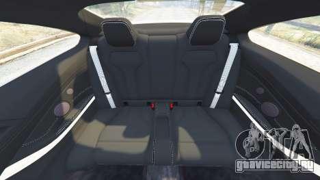 BMW M4 2015 v0.01 для GTA 5 руль и приборная панель