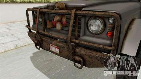 GTA 5 Canis Bodhi Trevor IVF для GTA San Andreas вид изнутри
