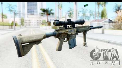 CoD Ghosts - G-28 Desert Camo для GTA San Andreas второй скриншот