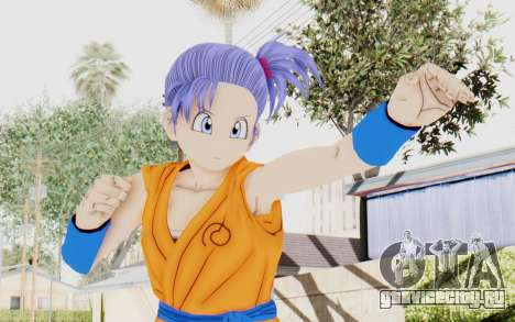 Dragon Ball Xenoverse Female Saiyan SJ для GTA San Andreas
