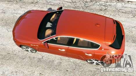 Maserati Levante 2017 для GTA 5 вид сзади