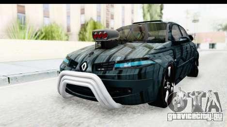 Renault Megane Sport для GTA San Andreas вид справа