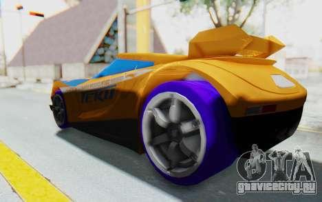 Hot Wheels AcceleRacers 4 для GTA San Andreas вид слева