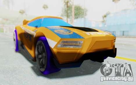 Hot Wheels AcceleRacers 4 для GTA San Andreas вид справа