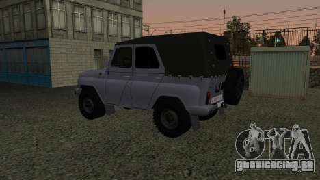 УАЗ-469 для GTA San Andreas вид сбоку