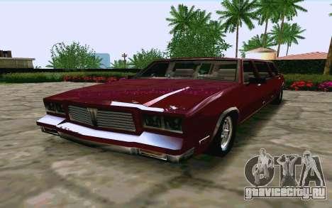 Tahoma Limousine v2.0 (HD) для GTA San Andreas