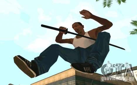 Sword of Blades для GTA San Andreas второй скриншот