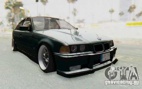 BMW 325tds E36 для GTA San Andreas вид справа