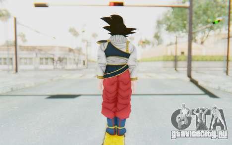 Dragon Ball Xenoverse Goku Yardrat Clothes для GTA San Andreas третий скриншот