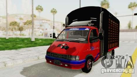 ГАЗель 33021 Stylo Colombia для GTA San Andreas