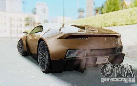 GTA 5 Pegassi Reaper SA Lights для GTA San Andreas вид слева