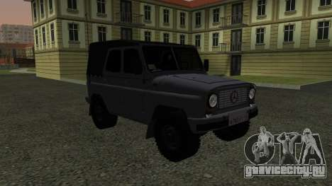 УАЗ-469 для GTA San Andreas вид сзади слева