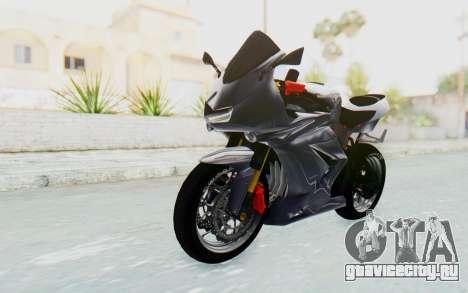 Kawasaki Ninja 250R Streetrace v2 для GTA San Andreas вид справа
