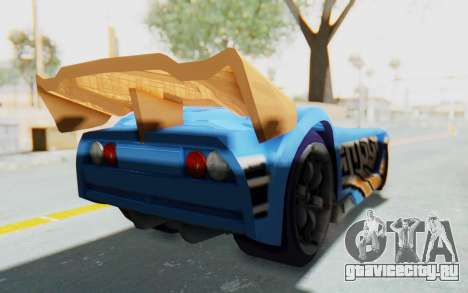 Hot Wheels AcceleRacers 1 для GTA San Andreas вид слева