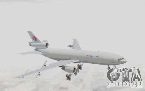 DC-10-30F MASkargo для GTA San Andreas вид сзади слева
