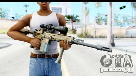 CoD Ghosts - G-28 Desert Camo для GTA San Andreas третий скриншот