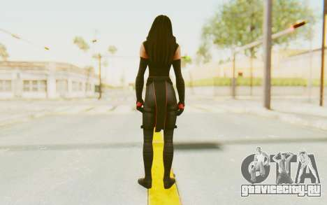 Marvel Heroes - Elektra для GTA San Andreas третий скриншот