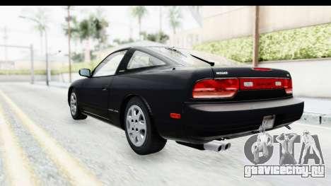 Nissan 240SX 1994 v2 для GTA San Andreas вид сзади слева