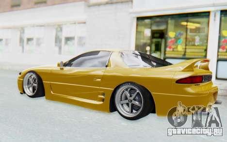 Mitsubishi 3000GT 1999 для GTA San Andreas вид сзади