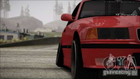BMW E36 Stance для GTA San Andreas вид сверху