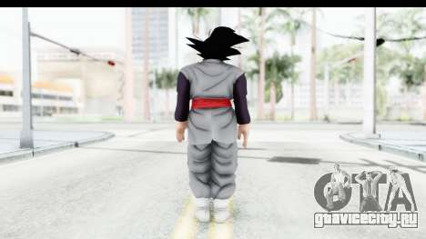 Dragon Ball Xenoverse Goku Black для GTA San Andreas третий скриншот