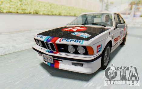 BMW M635 CSi (E24) 1984 IVF PJ2 для GTA San Andreas салон