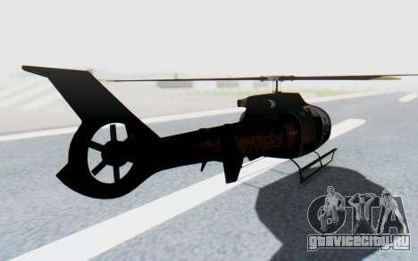 GTA 5 Maibatsu Frogger Trevor для GTA San Andreas вид сзади слева