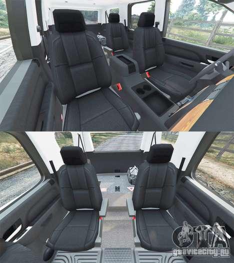 Chevrolet Tahoe для GTA 5 вид спереди справа