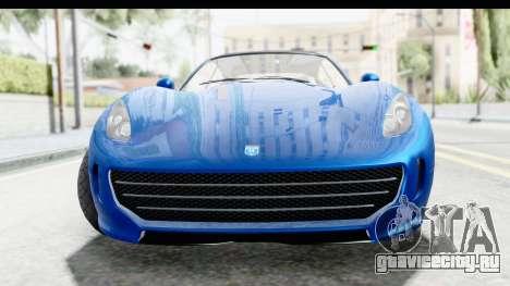 GTA 5 Grotti Bestia GTS для GTA San Andreas