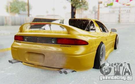 Mitsubishi 3000GT 1999 для GTA San Andreas вид слева
