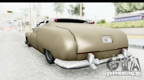 Hermes Ratrod для GTA San Andreas вид справа