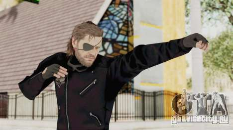 MGSV Phantom Pain BIG BOSS Leather Jacket для GTA San Andreas