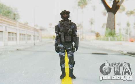 Federation Elite LMG Urban-Navy для GTA San Andreas второй скриншот