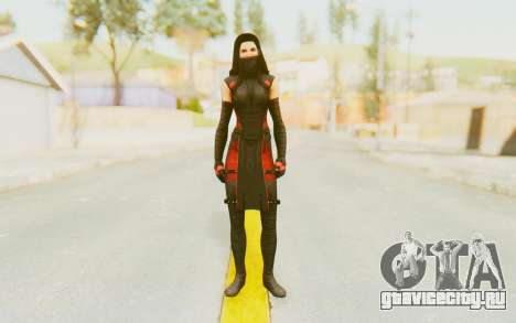 Marvel Heroes - Elektra для GTA San Andreas второй скриншот