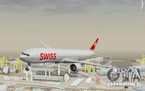 Boeing 777-300ER Swiss Global Air Lines для GTA San Andreas