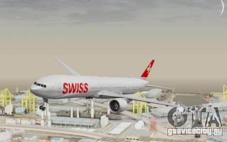 Boeing 777-300ER Swiss Global Air Lines для GTA San Andreas