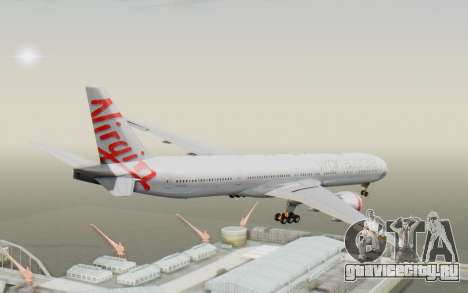 Boeing 777-300ER Virgin Australia v2 для GTA San Andreas вид справа
