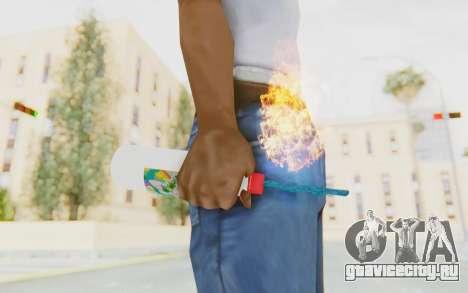 Hatsuni Miku Molotov для GTA San Andreas третий скриншот