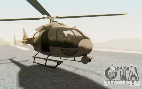 GTA 5 Maibatsu Frogger Civilian для GTA San Andreas вид справа