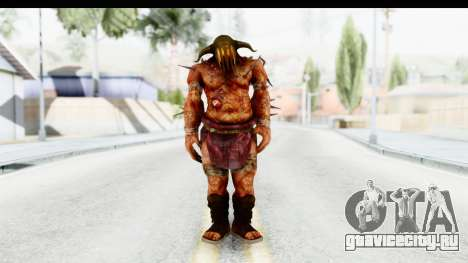 God of War 3 - Hades для GTA San Andreas второй скриншот