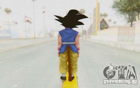 Dragon Ball Xenoverse Goku Kid GT SJ для GTA San Andreas третий скриншот